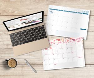 darmowy planner do druku na luty 2017