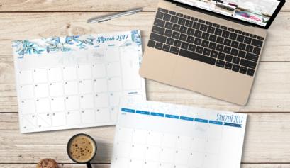darmowy planner do druku na styczeń 2017