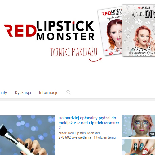 Red Lipstick Monster YouTube