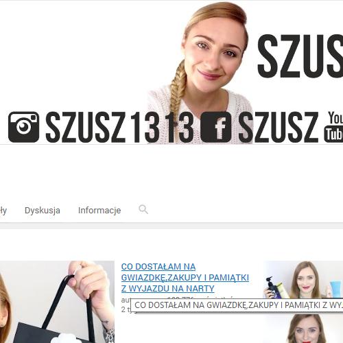 Szusz YouTube