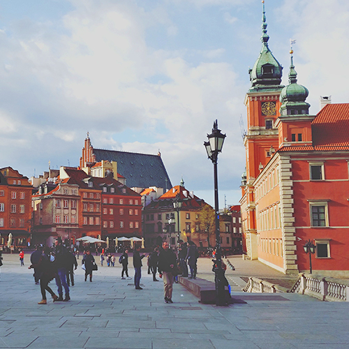 Plac Zamkowy Warszawa 2016